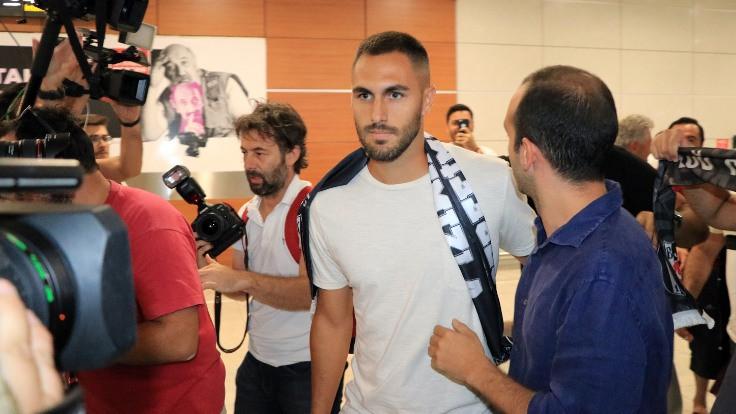 Victor Ruiz, Beşiktaş için İstanbul'da
