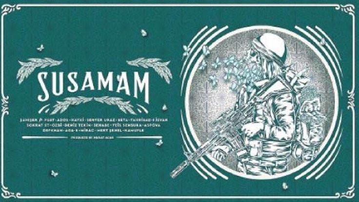 Sanatçılardan 'Susamam' kampanyası