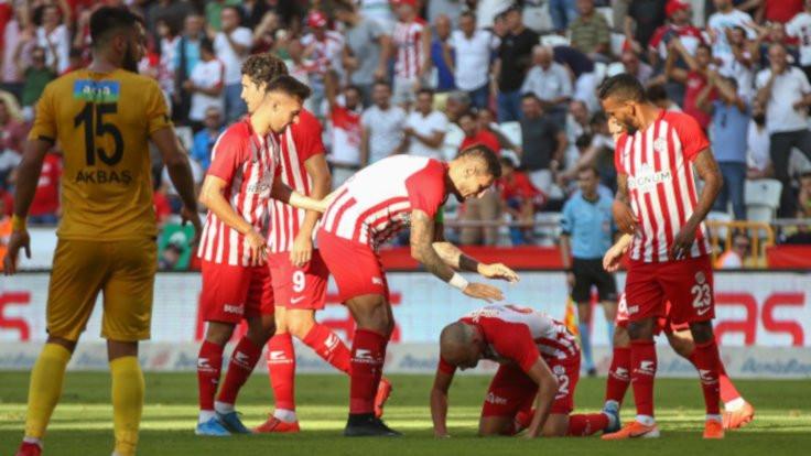 Antalyaspor 4 hafta sonra galibiyet aldı