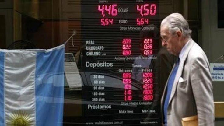 Arjantin'de kriz zirve yaptı, sermaye kontrolü geldi