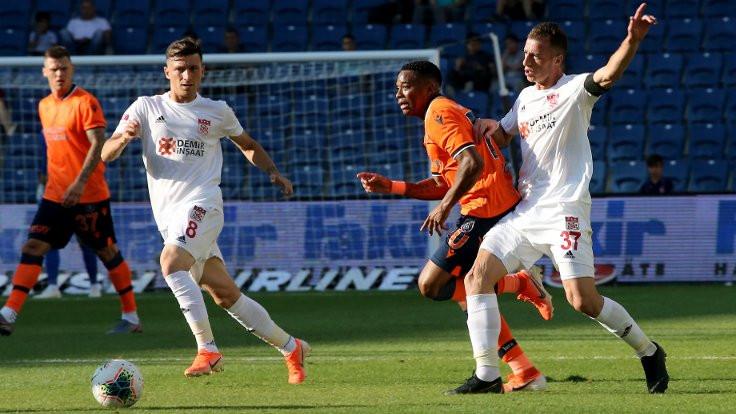 Başakşehir ve Sivasspor berabere kaldı