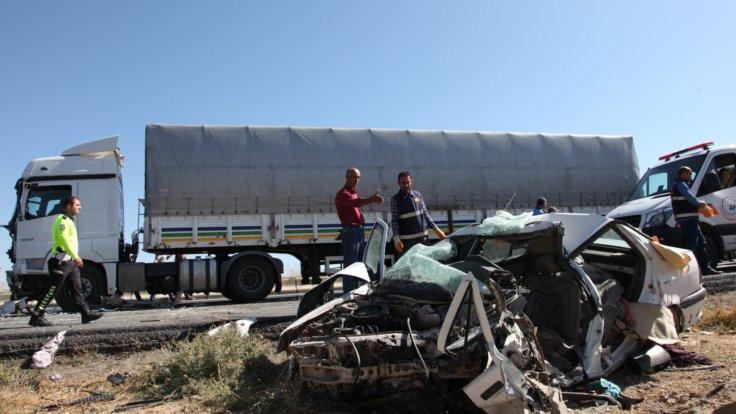 Bitlis'te trafik kazası