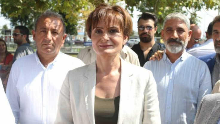 CHP'li Canan Kaftancıoğlu: Mücadeleyi büyütürsek hiçbir şey yapamazlar