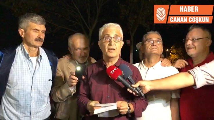 Gazeteciler tahliye edildi