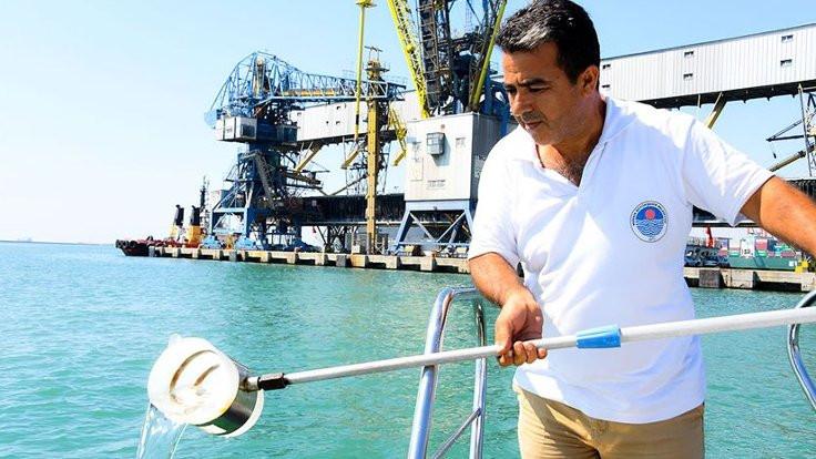 Mersin'de gemilere 14 milyon lira ceza