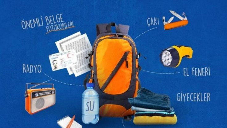 Deprem çantasında bulunması gereken 18 eşya