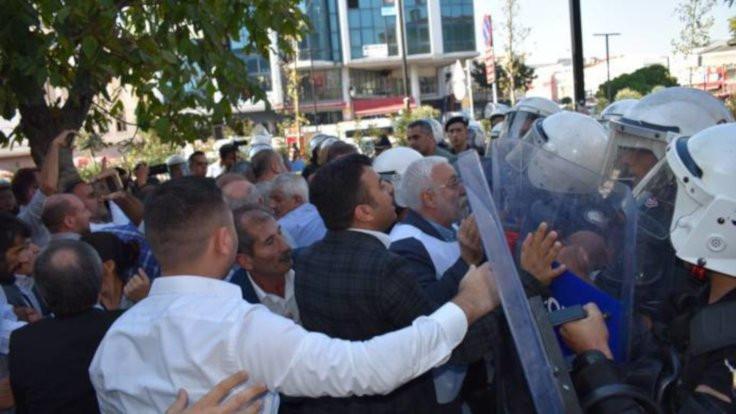 Esenyurt'taki kayyım eylemine polis saldırdı
