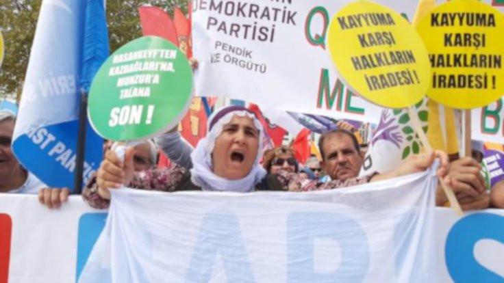 İstanbul'daki 1 Eylül mesajı: Kayyım hepimizin iradesine saldırı