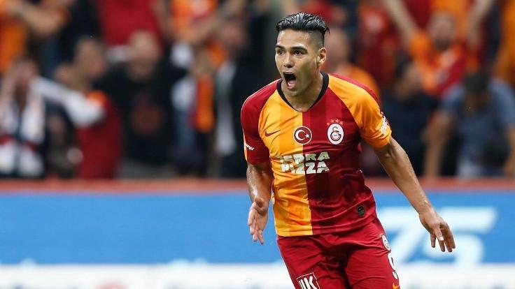 Galatasaray Falcao'yla kazandı