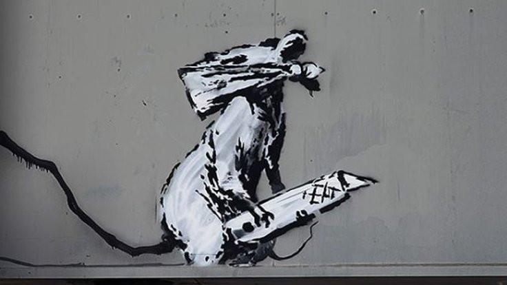 Banksy'nin bir eseri daha çalındı