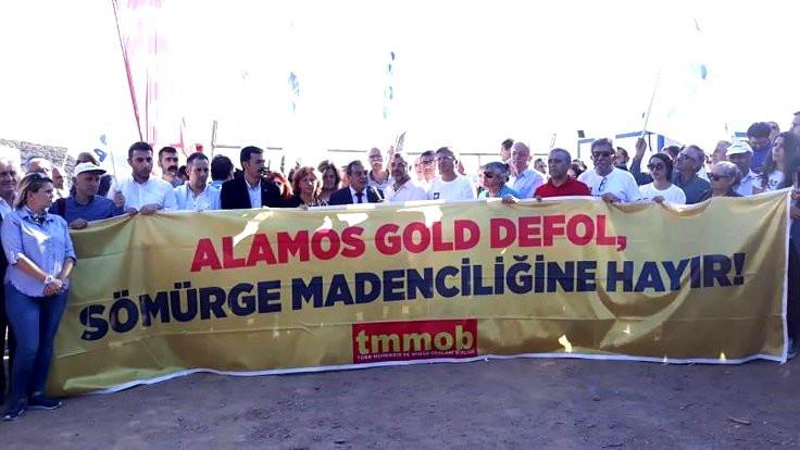 TMMOB: Sömürge madenciliğine hayır