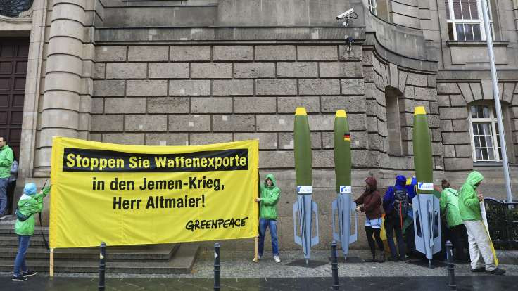 Greenpeace: Suudi Arabistan'a silah yasağı uzatılsın