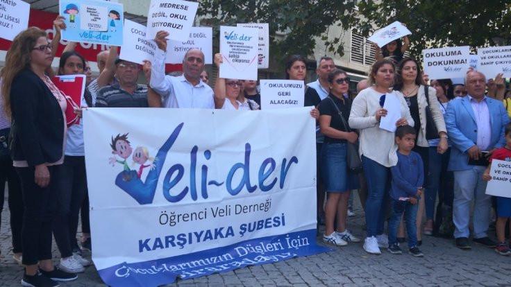 Okul içinde okul kararına protesto