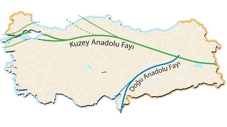 AFAD: Deprem Kuzey Anadolu fayında oldu