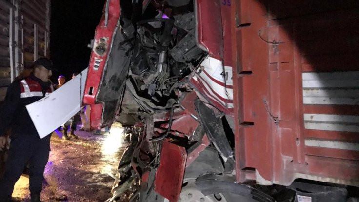 Konya'da kaza: Bir ölü, bir yaralı