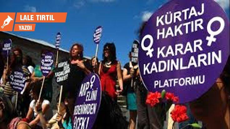 Cinsel hakların ayrılmaz parçası: Kürtaj hakkı
