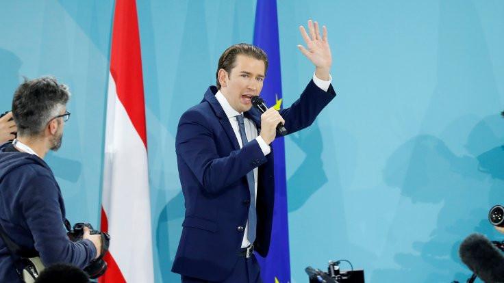 Avusturya seçimlerini Kurz kazandı