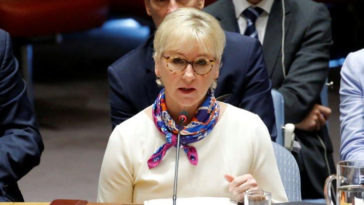 İsveç Dışişleri Bakanı istifa etti
