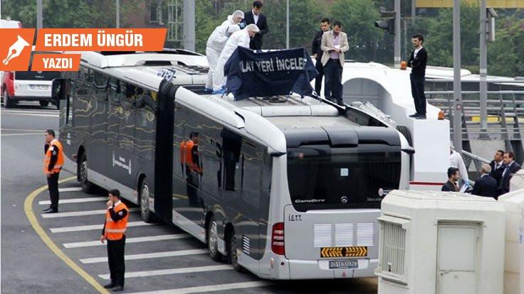Metrobüs: Dispozitif ağında ölürken