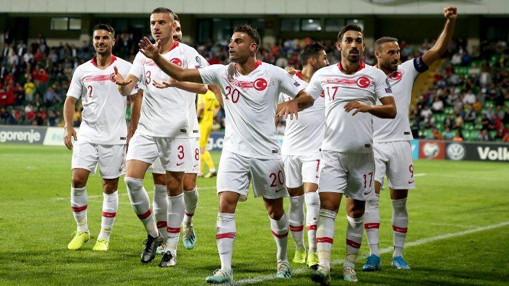 Türkiye deplasmanda farklı kazandı