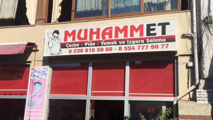 'MuhammEt' olmadı: Tabela indirildi