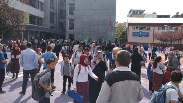 İstanbul'da hasarlı 29 okul pazartesi tatil