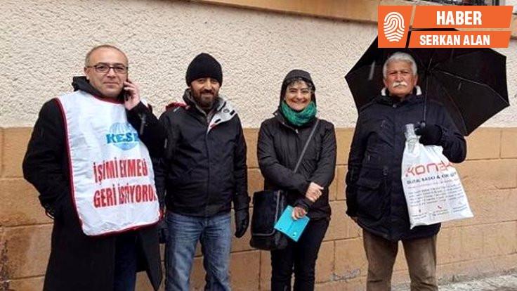 KHK'li Yıldırım AK Parti önünde eylem yapacak