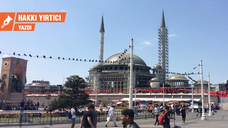 İmamoğlu'na Taksim ve Beyazıt önerileri