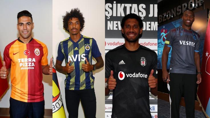 Süper Lig'in transfer raporu