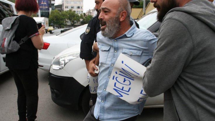 AK Parti önünde eyleme izin verilmedi