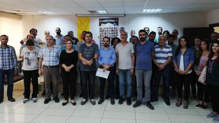 Diyarbakır'da 10 Ekim anması
