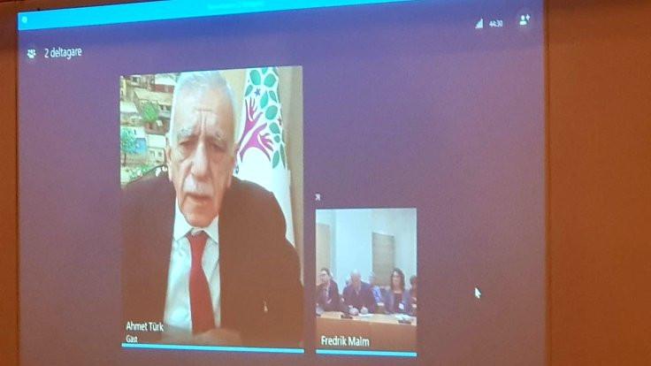 Türk: Öcalan'ın barış rolü engelleniyor