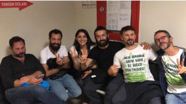 Kaz Dağları eylemcileri serbest bırakıldı