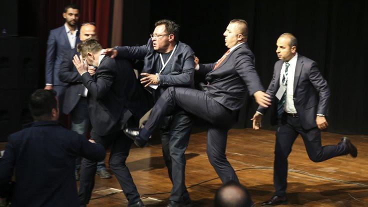 Ankaragücü kongresinde delegeye saldırı