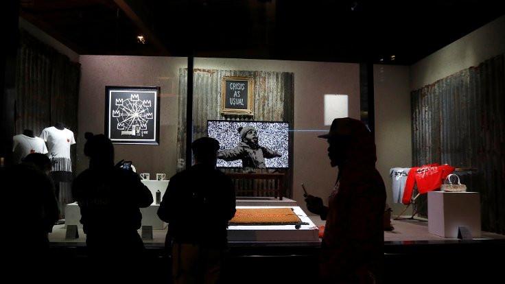 Banksy 'dükkan' açtı