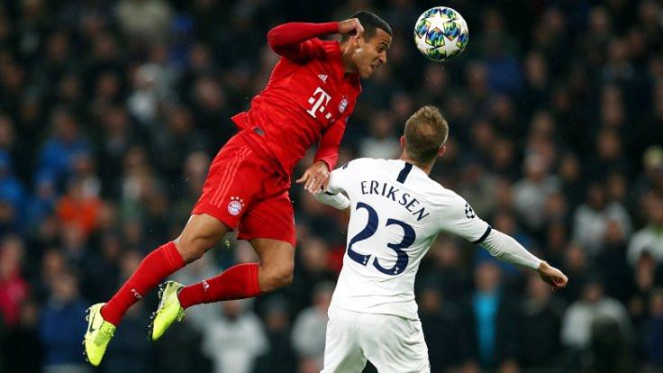 Bayern Münih'ten Tottenham'a 7 gol