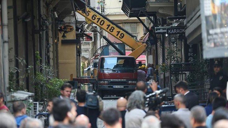 Beyoğlu'ndaki bina için yıkım kararı