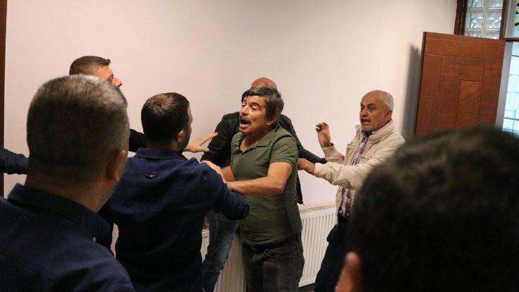 Denizlispor toplantısında kavga