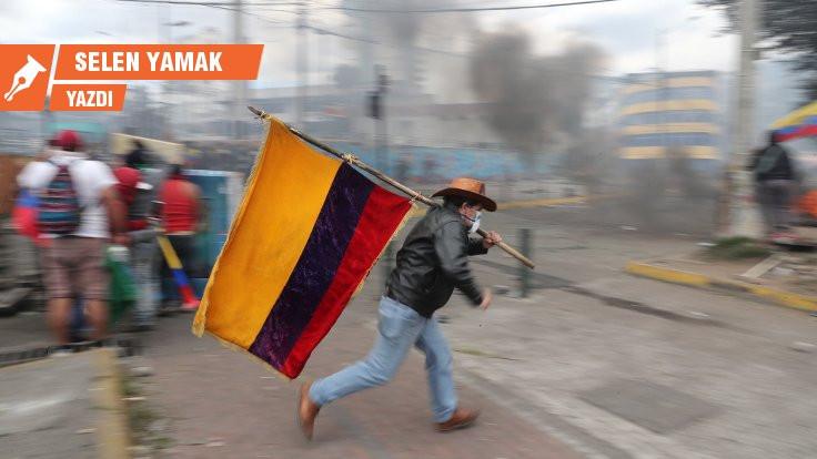 Ekvador'da direnen halklar kazandı!