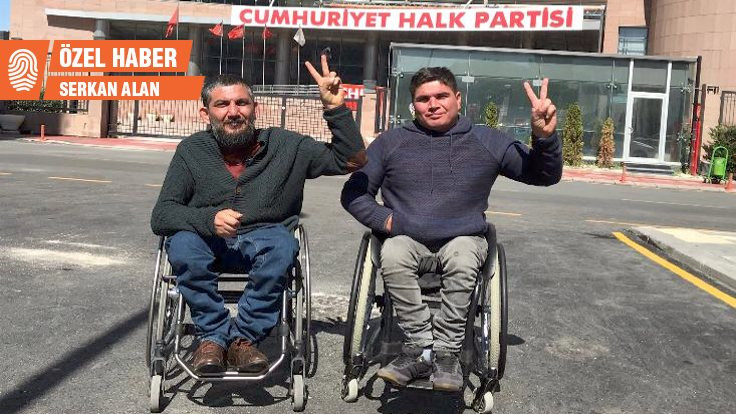Engelli aktivistler açlık grevini bitirdi