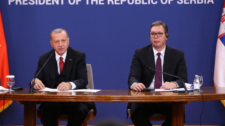 Türkiye ve Sırbistan arasında dokuz anlaşma imzalandı