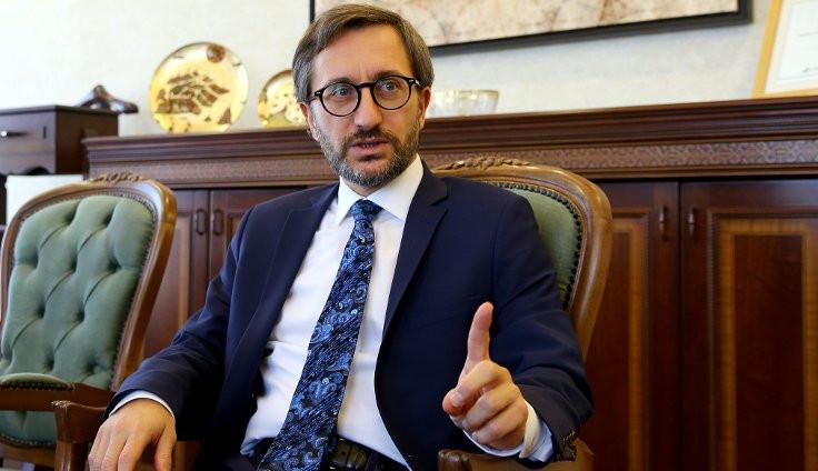 Fahrettin Altun: Kısa süre içinde sınırı geçeceğiz
