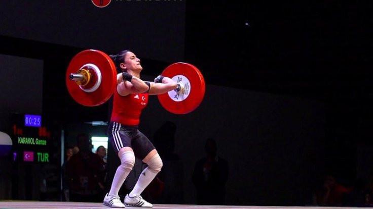 Karakol halterde Avrupa şampiyonu