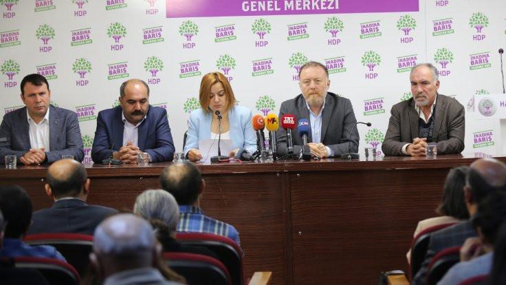 HDP, HDK, DTK, DBP'den Suriye açıklaması