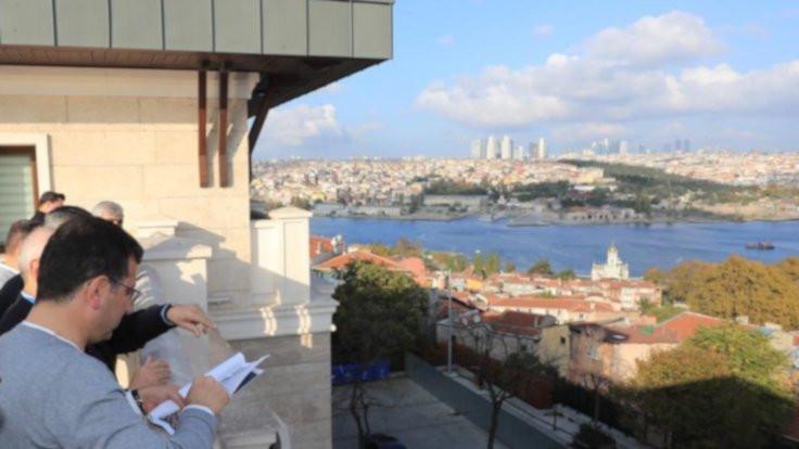 Erdoğan'ın adının verildiği liseden Balat'ı inceledi