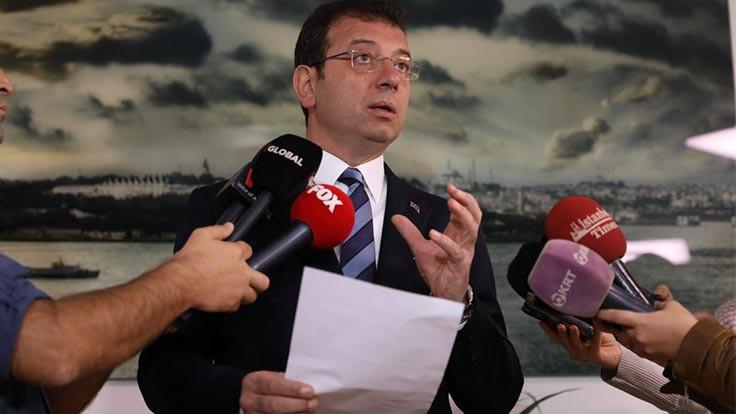 İmamoğlu, CNN Türk'e çıkmayacak