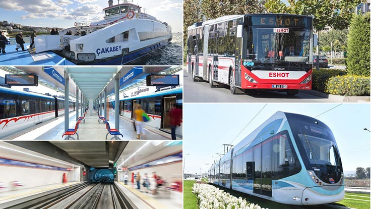 29 Ekim'de ulaşım 1 kuruş
