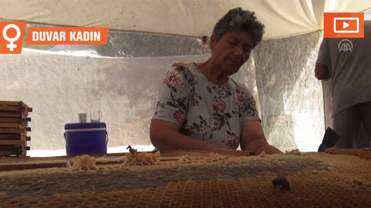 'Arıcıların kraliçesi' 600 kovanda üretim yapıyor