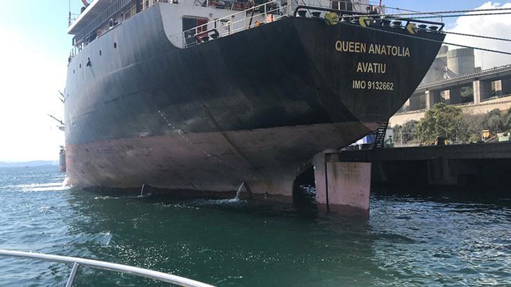 Körfezi kirleten gemiye milyonluk ceza