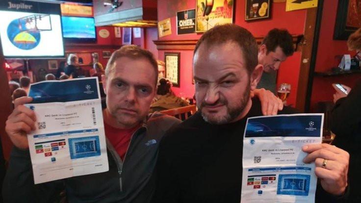 'Genk' diye 'Gent'e gidince maçı barda izlediler